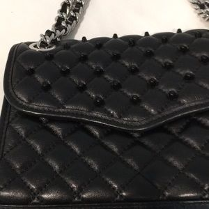 REBECCA MINKOFF Black Cross body or Shoulder Bag